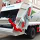 6m3 Compactor Garbage Truck