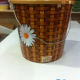 Waste basket with a lid size 12 liter Available paintings