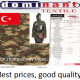Military fabric and military clothing textile