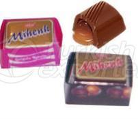 شوكولاتة الكوكولين المليئة بالكراميل