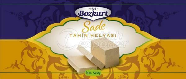 حلاوة طحينية سادة Bozkurt