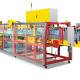 Model SYP 3575 High Speed Overlapping Shrink Packaging Machine.