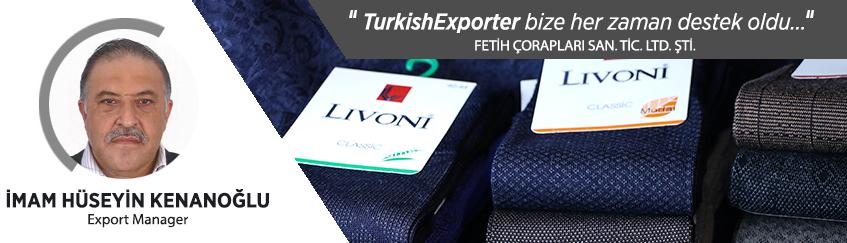 TurkishExporter ihracat hedeflerimizi gerçekleştirebilmemiz için bize her zaman destek olmuştur.