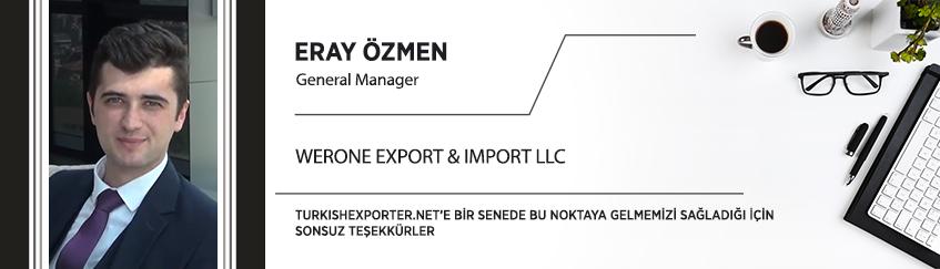 Turkıshexporter.net'e Bir Senede Bu Noktaya Gelmemizi Sağladığı İçin Sonsuz Teşekkürler