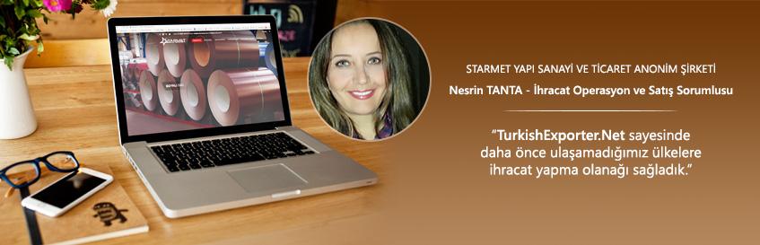 TurkishExporter.Net ile pazar ağımızı genişlettik ve daha hızlı büyüme hedefliyoruz.