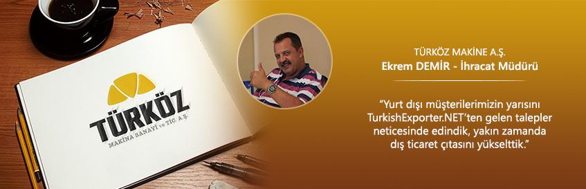 İhracat  Müşterilerinin Yarısı TurkishExporter.NET'ten…