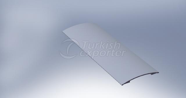 Aluminium Cover Trim Profile