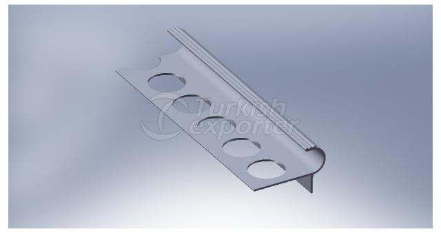 Aluminium Ceramic Tile Trim