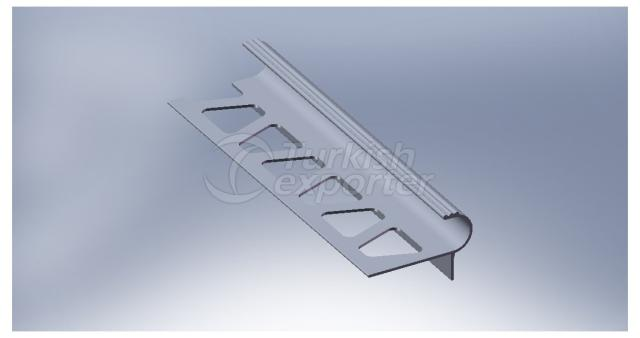 Aluminium Ceramic Tile Trim Profile