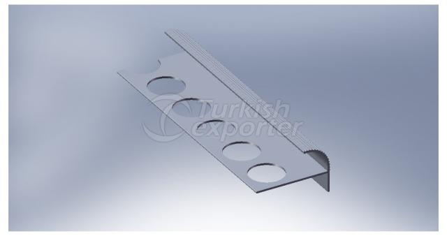 Aluminium Ceramic F Profile