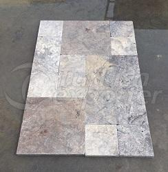Silver Travertine Honed Paver