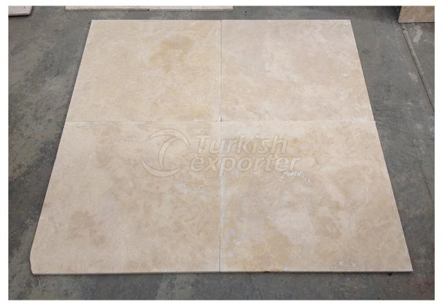 Light Travertine Honed Tiles