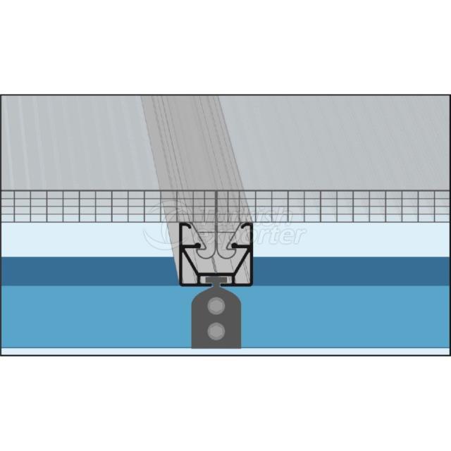 Kilitli Sistem Polikarbonat Paneller