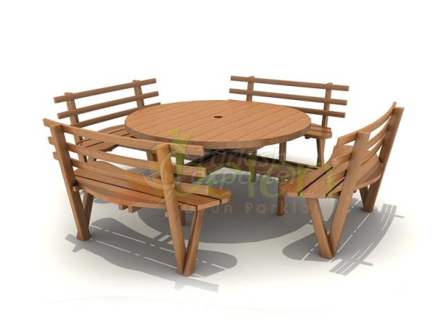 Wooden Picnic Tables BPM03