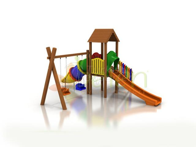 Wooden Playgrounds BA02