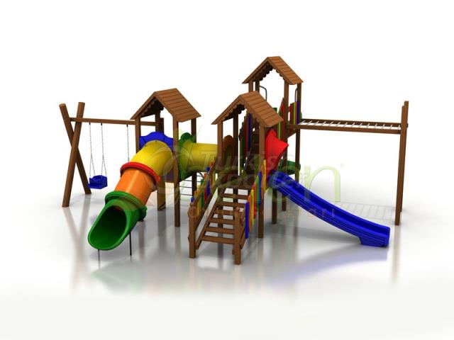 Wooden Playgrounds BA05