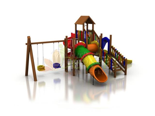 Wooden Playgrounds BA04