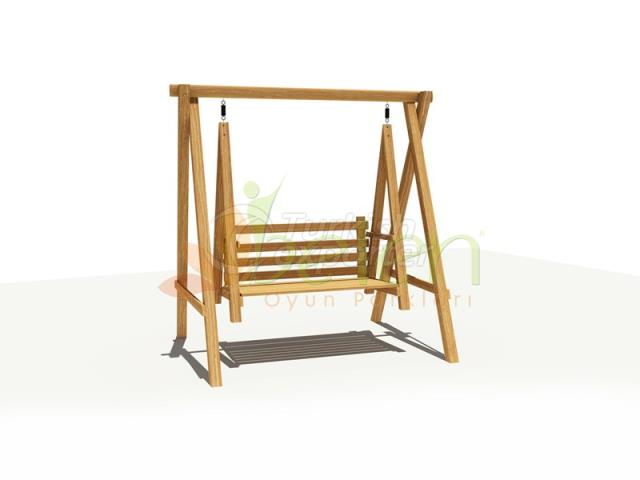 Metal Wood Swings BS04