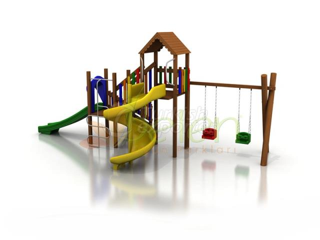 Wooden Playgrounds BA03