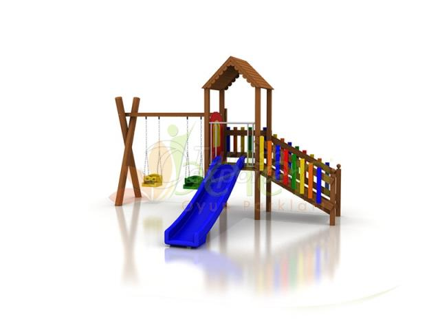 Wooden Playgrounds BA01