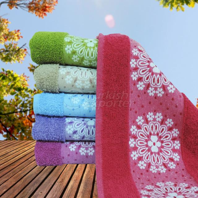 DAISY PATTERN the Towel for hands