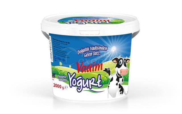 Vadim Y.Yağlı Yoğurt 2000g