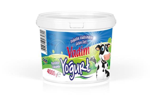 Vadim Az Yağlı Yoğurt 4000g