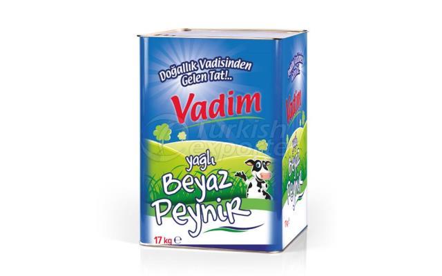 Vadim Yağlı Beyaz Peynir 17 kg