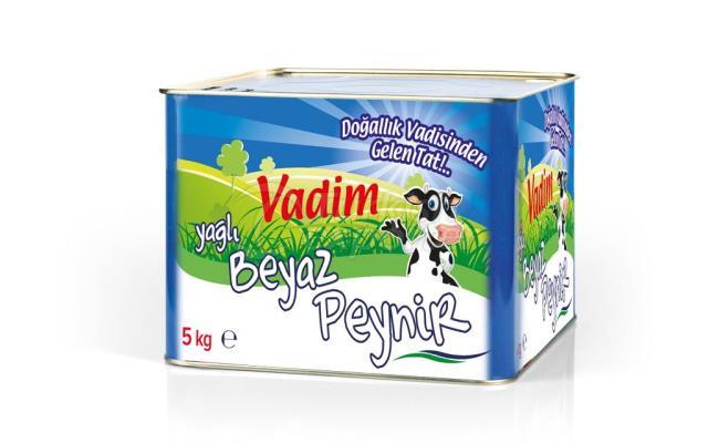 Vadim Yağlı Beyaz Peynir 5 kg
