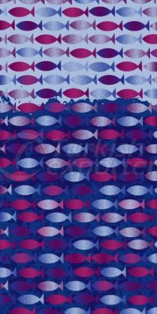 Beach Towel Funny Fish