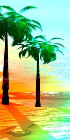 Beach Towel Palm Beach