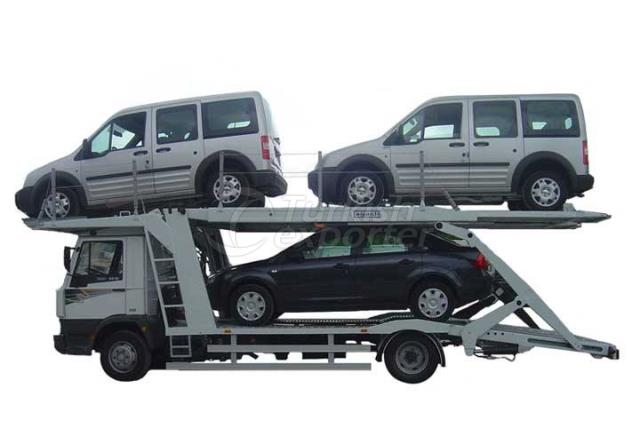Triple Platform Auto Carrier