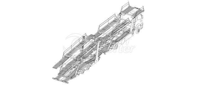 Scissors Platform Auto Carrier