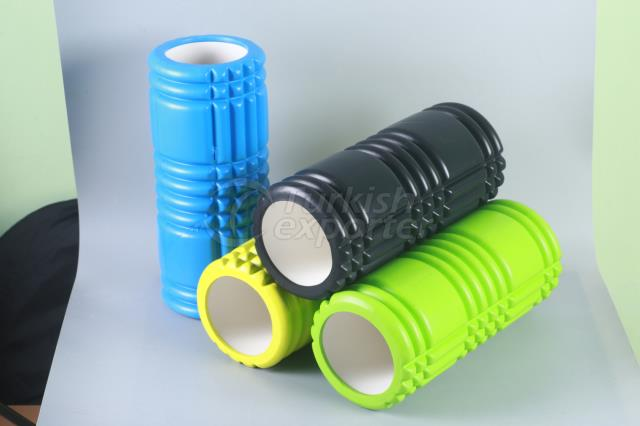 EVA grid exercise foam roller