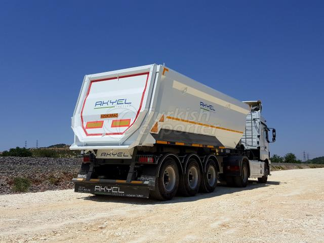 TIPO TIPO TIPPER SEMI TRAILER