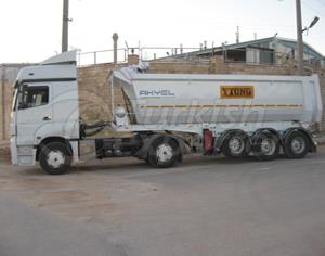Tipo de Piscina Tipper Trailer