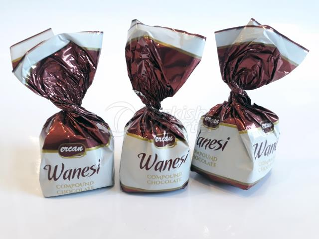 Ercan Wanesi-Hazelnut Compound Chocolate