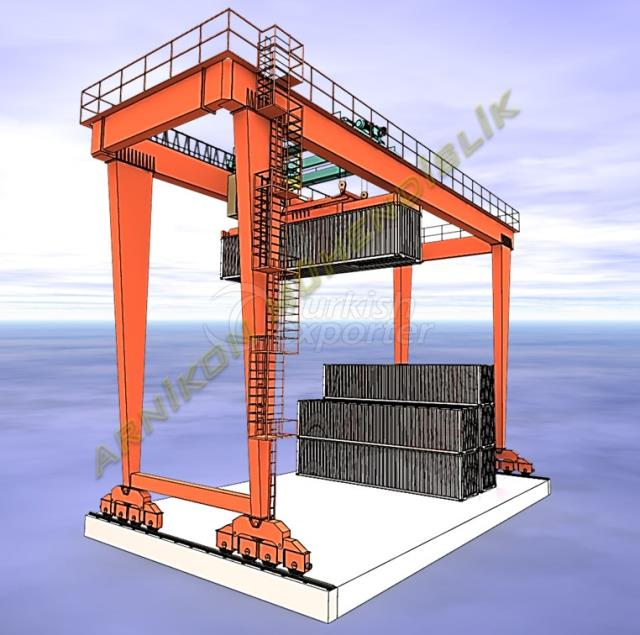 Кран для контейнеров