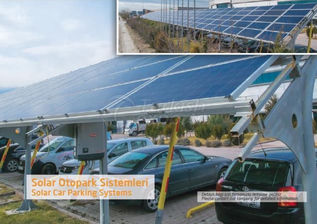 Solar Car Parking Systems