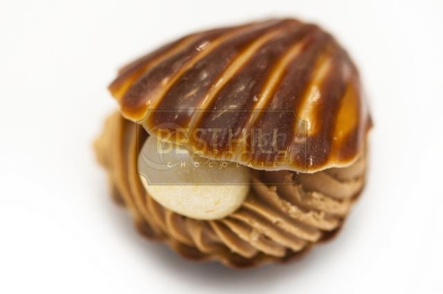 GIANDUJA FILLED WHITE CHOCOLATE SPC 1060