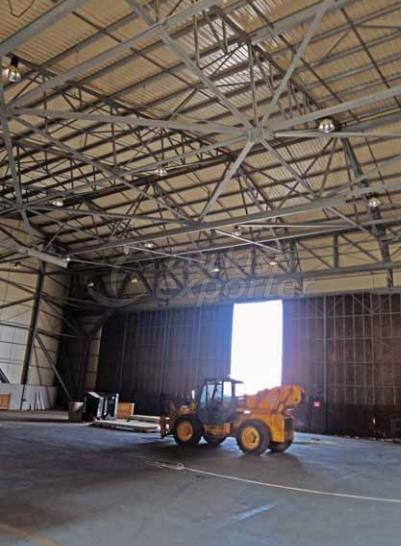 Construct Roof Hangar