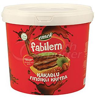 Cream With Cocoa and Hazelnut FKF-06