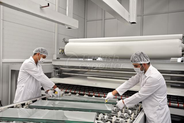 Laminated Glass Production