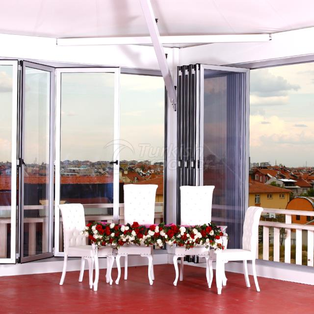 KDS Insulated folding door