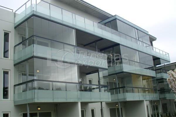 VBS Balcony Glazing System