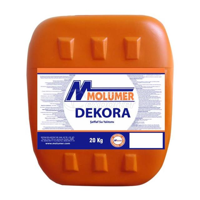 DEKORA Transparent Waterproofing