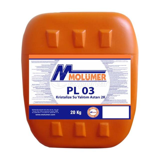 PL03 Primer-Crystalline Waterproof