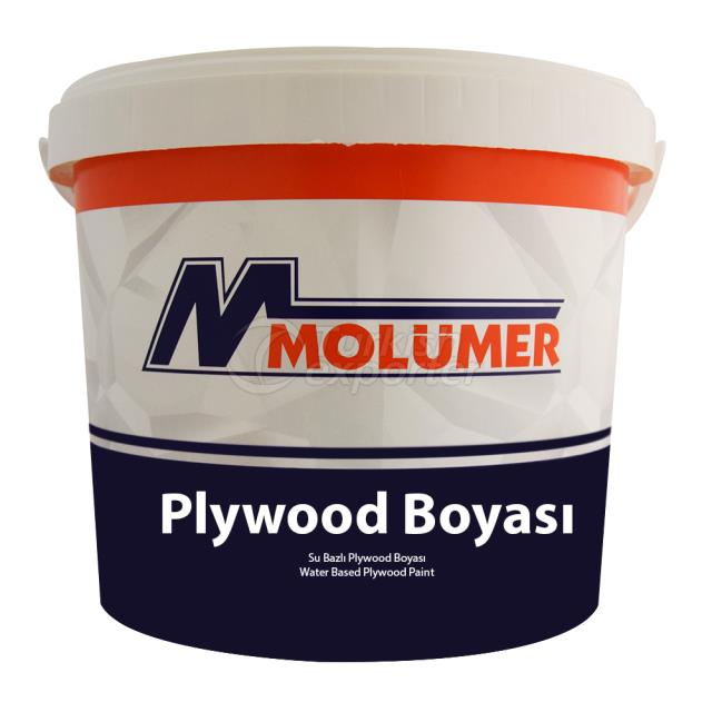 Plywood Paint - Water Based