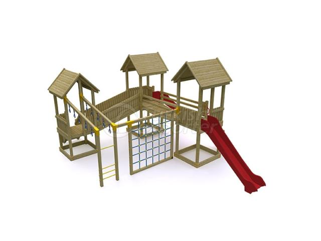 Wooden Kids Playground BAB-P-15514