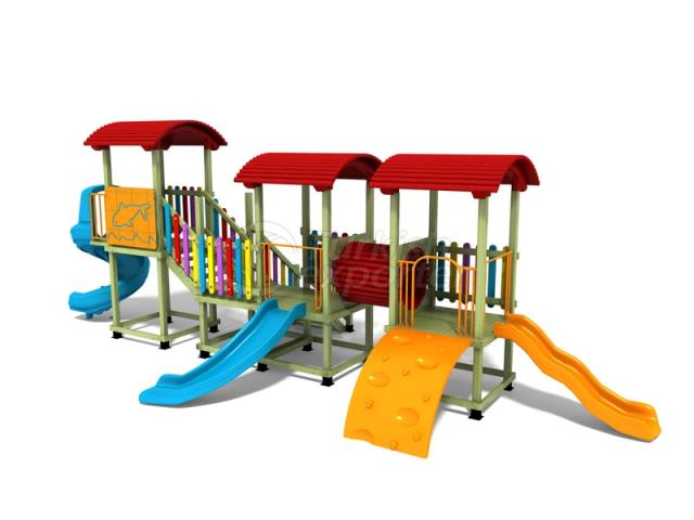 Wooden Kids Playground BAB-P-15520
